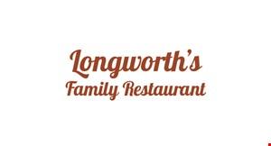 Longworth's Family Restaurant logo