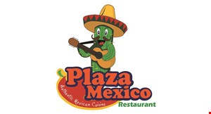 Product image for Plaza Mexico Restaurant $2 OFF any purchase of $10 or more.