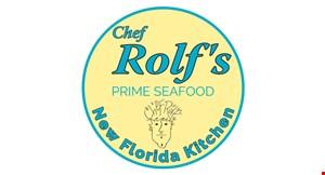 Chef Rolf's Seafood Kitchen logo