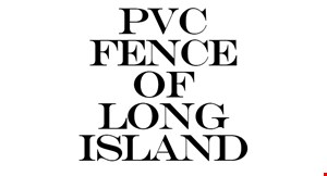 Product image for PVC Fence Of Long Island $1925 for 88' of 6' x 8' privacy PVC fence installed in cement.