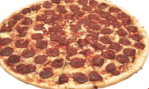 Product image for Pizza Americana ONLY $10.99 large 1-topping pizza.