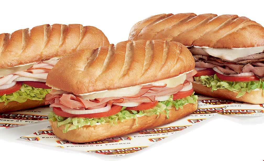 Product image for Firehouse Subs #1315 $5 OFF Any $50 Catering Order.