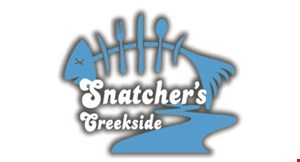 Product image for Snatcher's Creekside $10 OFF any purchase of $50 or more.