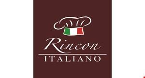 Product image for Rincon Italiano 15% off entire check