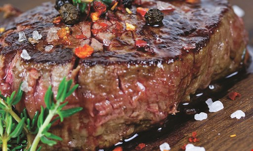 Product image for Diamond Jims Steakhouse $10 OFF any purchase of $50 or more · valid Tues-Thurs · Dine in only.
