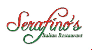 Product image for Serafino's Italian Restaurant $10 Off any purchase of $60 or more