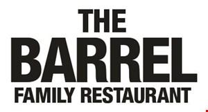 The Barrel Family Restaurant logo