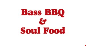 Product image for Bass BBQ & Soul Food $10 For $20 Worth Of Casual Dining