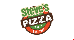 Product image for Steve's Pizza $10 For $20 Worth Of Pizza, Subs & More (Also Valid On Take-Out W/ Min. Purchase Of $30)