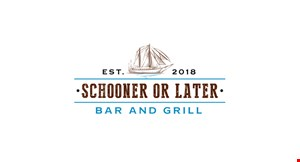 Schooner Or Later Bar And Grill logo