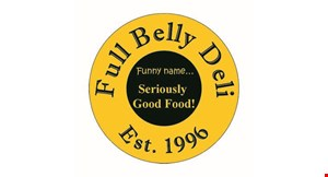 Product image for Full Belly Deli $10 For $20 Worth Of Casual Dining