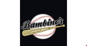 Bambino's Sports Grill logo