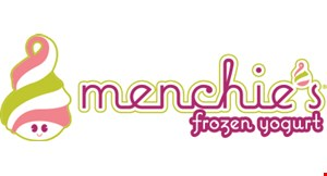 """Product image for Menchie's Frozen Yogurt $10 OFF 7"""" CAKE OR LARGER exclusively at Menchie's Palmdale."""