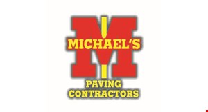Product image for Michael's Paving Contractors $150 off any paving job of $1000 or more