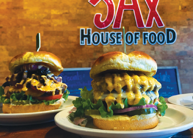 Product image for Jumpin Jax House of Food $5 off any purchaseof $20 or more.