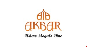 Product image for Akbar Restaurant $10 Off any purchase of $50 or more