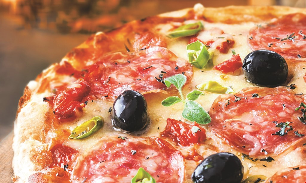 Product image for Luberto's Brick Oven Pizza $5 OFF any check over $30 valid mon.-thurs. only.
