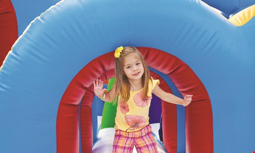 Product image for Bounce Town Free 4 tokens per child · Tues. only (ages 2 yrs. & up).