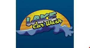 Lake Car Wash logo