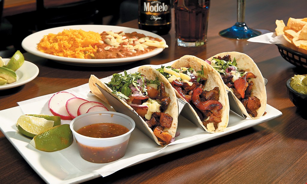 Product image for Margarita City Mexican Grill & Bar FREE combo mealBuy 1 combo meal and 2 beverages and get a 2nd combo meal of equal or lesser value freevalid Mon.-Fri. 2pm-5pm