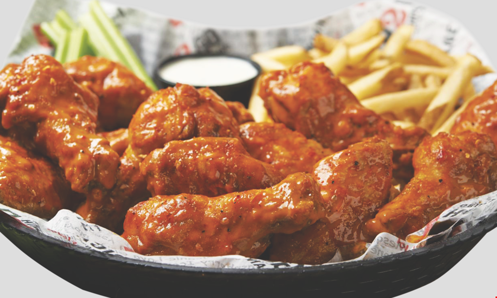 Product image for Hurricane Wings - Bartram $5 off $25 purchase.