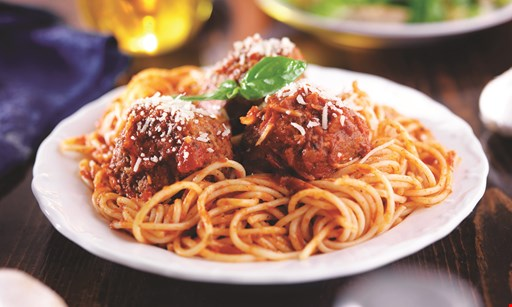 Product image for Borrelli'S  $26.99 + tax Medium cheese pizza, Spaghetti marinara, Entree mixed green salad, Breadsticks.