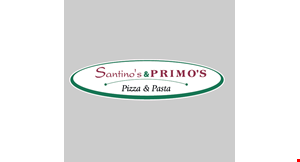 Product image for Santino's Primo Pizza and Pasta $15 For $30 Worth Of Pizza, Pasta & More