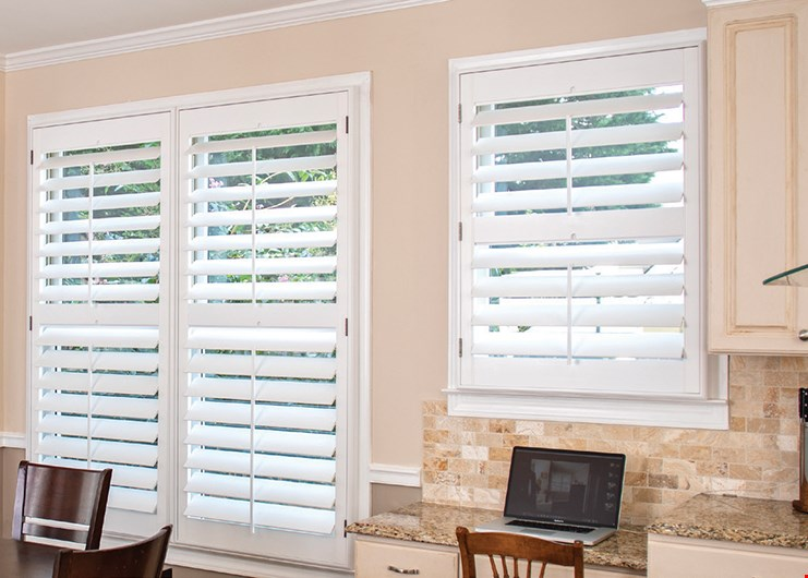 Product image for Louver Shop Buy one get one 40% off Shutters, blinds & shades