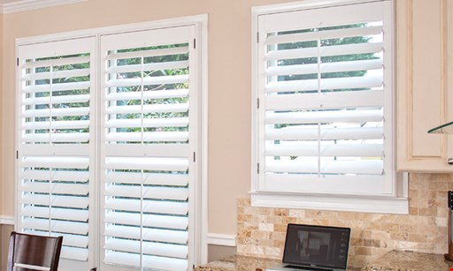 Product image for The Louver Shop Buy one get one 40% off Shutters, blinds & shades