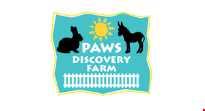 Product image for Paws Discovery Farm $10 For Admission For 2 (Reg. $20)