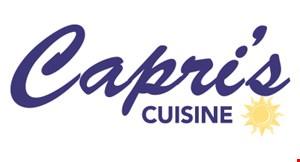 Capri's Cuisine logo