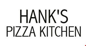 Hank's Pizza Kitchen logo