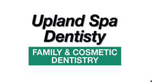 Product image for Upland Spa Dentistry FAMILY & COSMETIC DENTENTRY 4 Denture Supporting Implants. Includes: Full Upper & Lower Dentures & 4 Denture Supporting Implants. Special $3799.