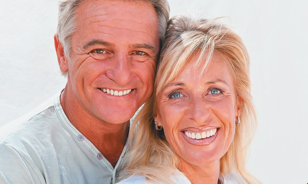 Product image for Upland Spa Dentistry FAMILY & COSMETIC DENTENTRY 4 Denture Supporting Implants Includes: Full Upper & Lower Dentures & 4 Denture Supporting Implants Special $3799.