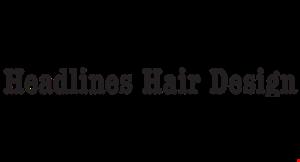 Headlines Hair Design logo