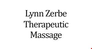 Lynn Zerbe Therapeutic Massage logo