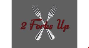 2 Forks Up logo