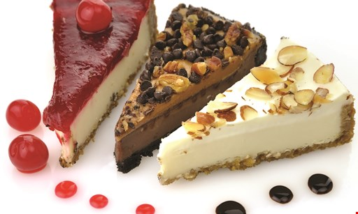 Product image for 219 Broad St. Mixed Cuisine Free slice of cheesecake