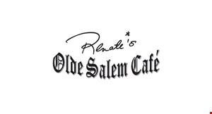 Product image for Olde Salem Cafe $5 OFF any purchase of $20 or more.