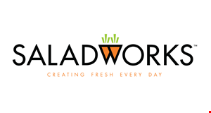 Product image for Saladworks - Camp Hill $2 Off any soup.