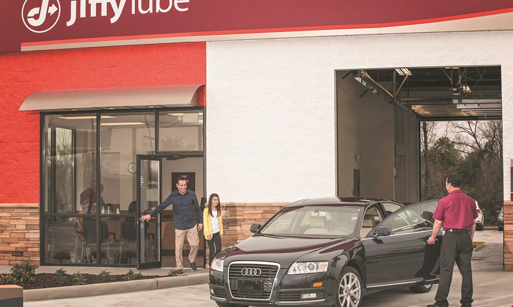 Product image for Jiffy Lube Oil Change $24.99* Signature Service Oil Change. Includes complete fluid check, interior vacuum, wash exterior windows, and check tire pressure & tread depth. *Most vehicles, up to 5 qt. Pennzoil Conventional .OR $15 off* REG. PRICE $39.99 Any Pennzoil Synthetic Blend, High Mileage or Full Synthetic Motor Oil Oil Filter upcharge may apply to a few select vehicles ALL LOCATIONS!