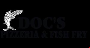 Doc'S Pizzeria & Fish Fry logo