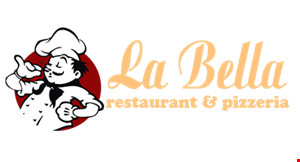La Bella Restaurant And Pizzeria logo