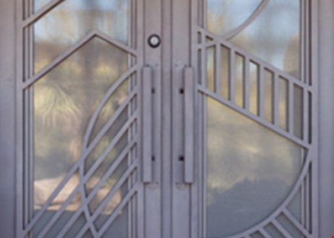 Product image for FIRST IMPRESSION IRONWORKS Iron Entry Door Bonus Upgrade. Get Up To $500 Off* + 3 Bonus Upgrades For Free. 1. Distinctive Iron Handle. 2. Decorative Color Paint Finish. 3. Custom Sunscreen.