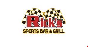 Rick's Sports Bar & Grill logo