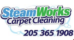 Steamworks Carpet Cleaning logo