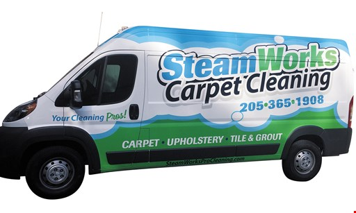 Product image for Steamworks Carpet Cleaning $99.95 tile & grout cleaning (up to 175 sq. ft.)