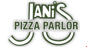 Jani's Pizza Parlor logo