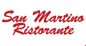 Product image for San Martino Ristorante $15 gift certificate toward the purchase of 2 or more entrees