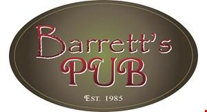 Barrett's Pub logo